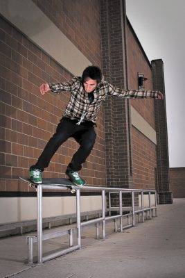 Everyone knows that a lot of the younger skateboarders today are progressing at a level beyond comprehension, and that's exactly what drew me to Kevin Fedderson in the first place.