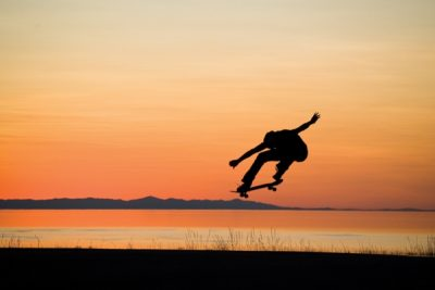 Jared Smith has lived quite the life across the world, all the while on a skateboard.