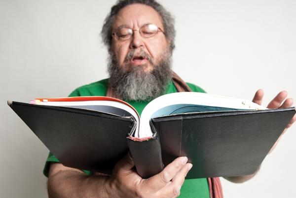 Alex Caldiero, subject of the documentary The Sonosopher