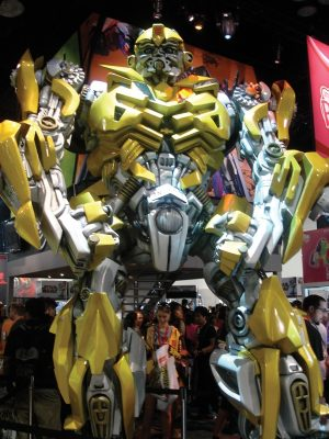 Life-size Bumblebee from Transformers 2.