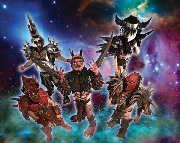 Intergalactic metal warriors GWAR will be melting faces Nov. 21 at Saltair.
