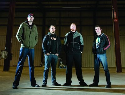 Gaza (L to R: Jon Parkin, Tino Lucero, Mike Mason and Casey Hansen) will release He Is Never Coming Back on November 10.