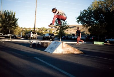 James Atkin ollie from mellow to steep