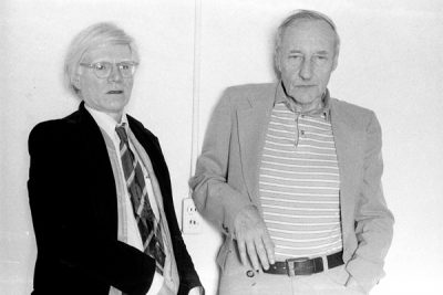 Andy Warhol and William S. Burrough