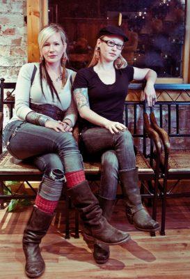 Melissa Christensen and Jen Alden.