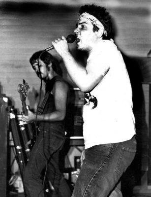 Brent Barker, circa 1984.
