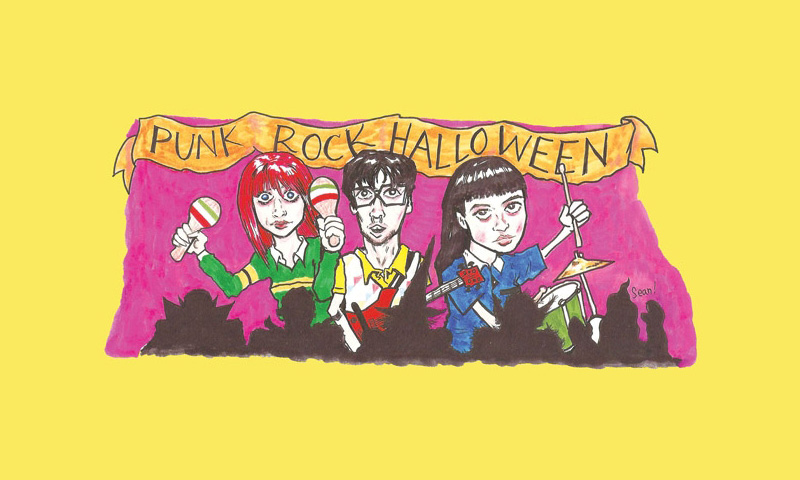 Mommy's Little Monsters on Punk Rock Halloween