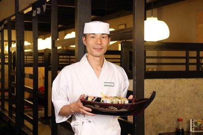 With eight years of rolling sushi for Shogun behind him, Keisuke Sasaki is the future of the historic establishment.