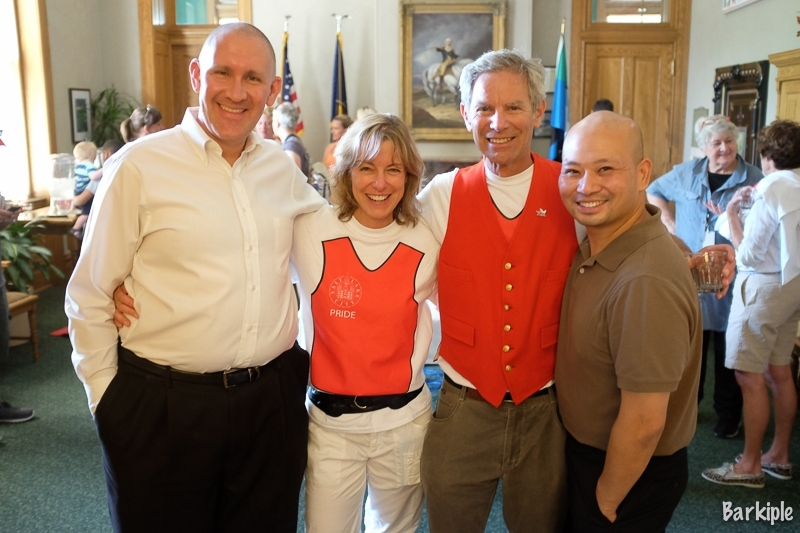 Celebrating Pride: Mayor Ralph Becker Holds Wedding Reception for Same-Sex Couples