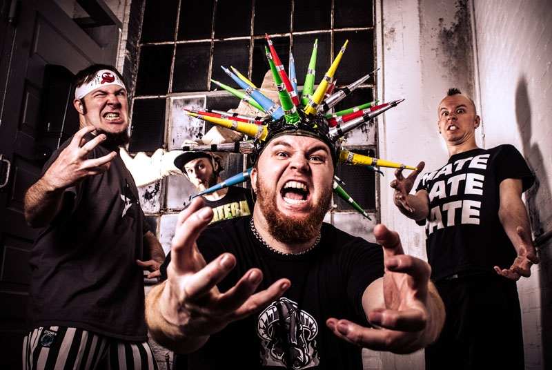 Psychostick @ Urban Lounge 06.18 with Dog Fashion Disco, The Bunny The Bear
