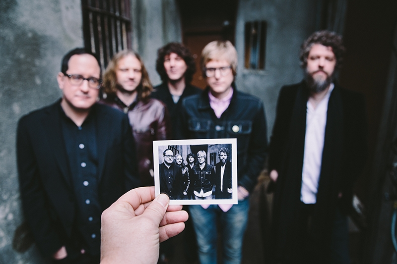(L–R) Craig Finn, Bobby Drake, Galen Polivka, Tad Kubler and Steve Selvidge of The Hold Steady will grace The Urban Lounge on July 14.