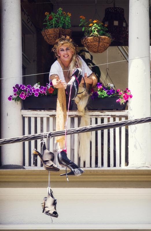Princess Kennedy: Damn These Heels!
