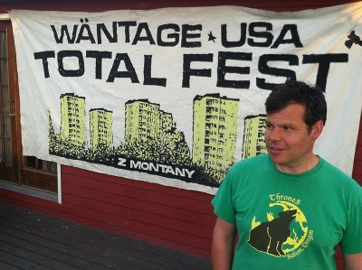 Josh Vanek of Wäntage Records has been organizing Total Fest since its inception 13 years ago.