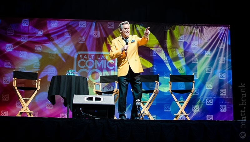 Salt Lake Comic Con 2014: Bruce Campbell