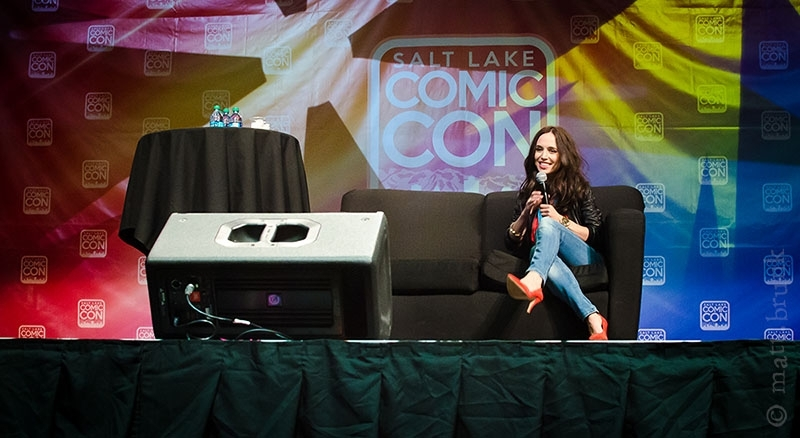 Salt Lake Comic Con 2014: Eliza Dushku