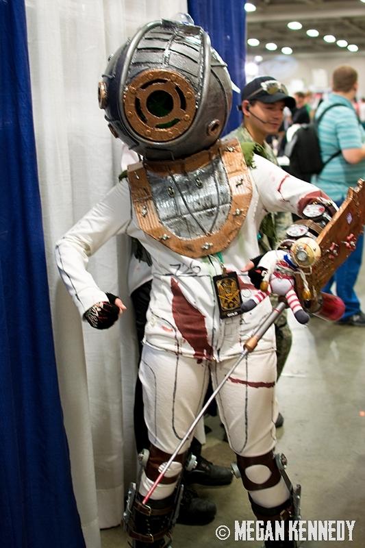 Salt Lake Comic Con 2014: Cosplayers – Erick Van Uitert, Daniel Gray & Breanna Wiggins