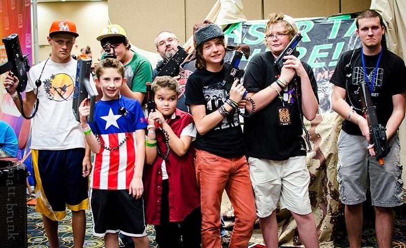 Salt Lake Comic Con 2014: Battlefield Live