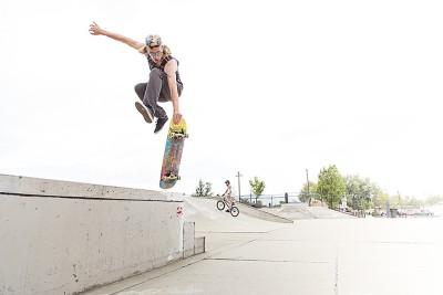 Ethan McBeth, Airwalkin' in his home park.