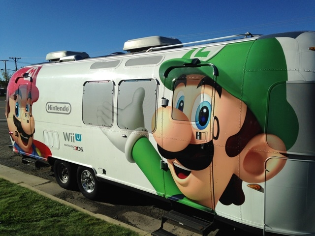 Nintendo Airstream Tour 2014