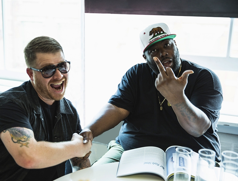 (L–R) El-P and Killer Mike of Run the Jewels officially dropped their second album, RTJ2, on Oct. 27, and hit Urban Lounge on Nov. 17.