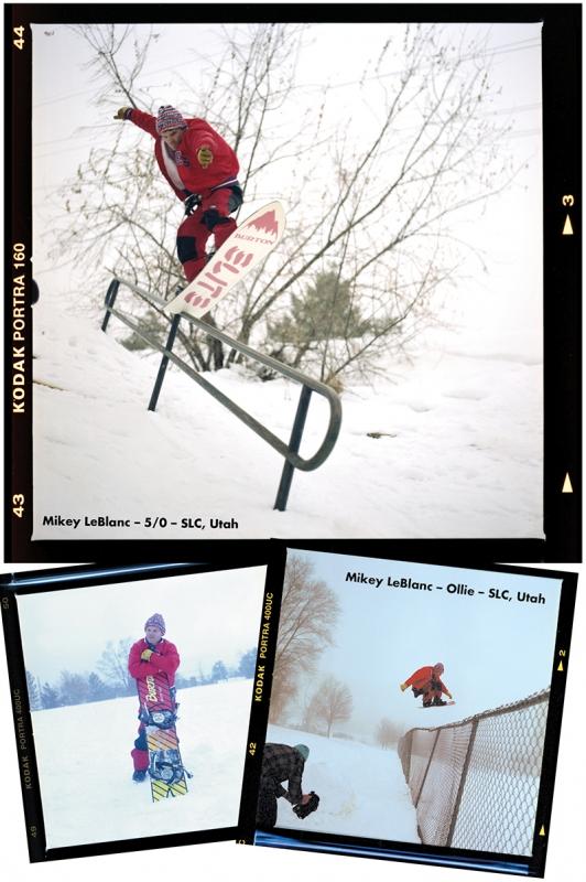 SLUG Snow Photo Feature: Mikey LeBlanc