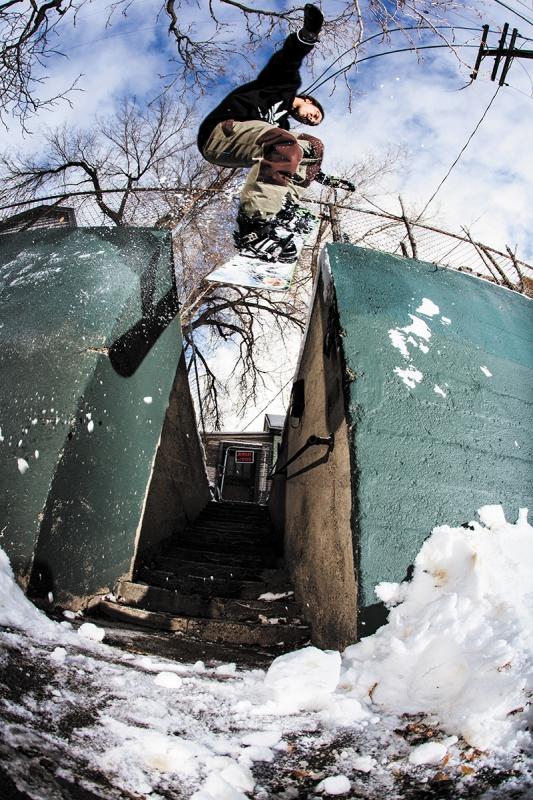 SLUG Snow Photo Feature: Keegan Valaika