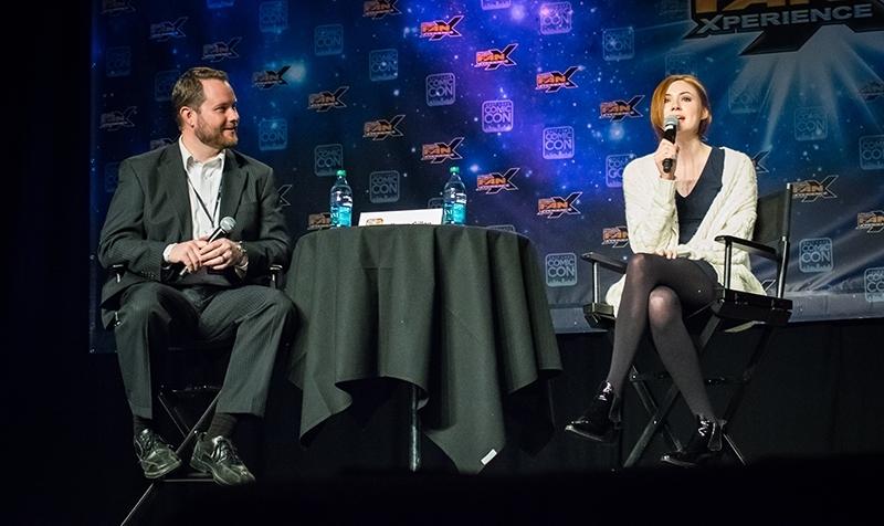 The Girl Who Waited: Karen Gillan Panel