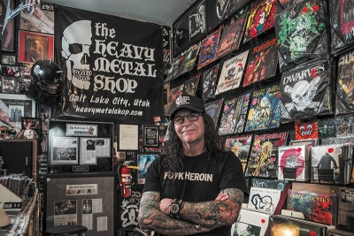 Two concerts will benefit The Heavy Metal Shop owner Kevin Kirk, who suffered a collapsed lung last holiday season.
