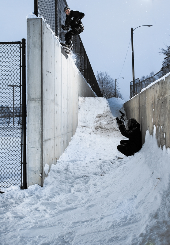 Cale Zima – 5050 to Backside Wallride featured in @absinthefilms – Salt Lake City, Utah
