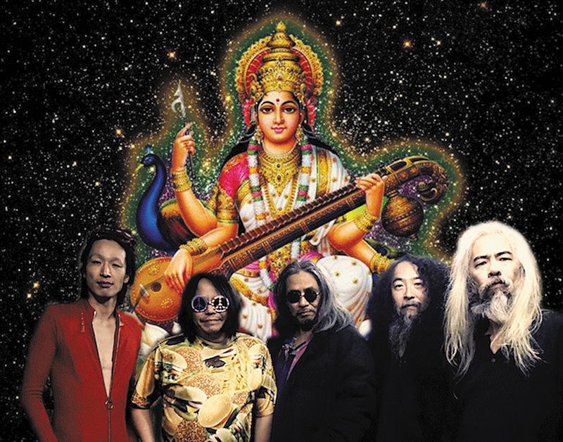 Just Another Man From The Cosmic Inferno: Kawabata Makoto of Acid Mothers Temple