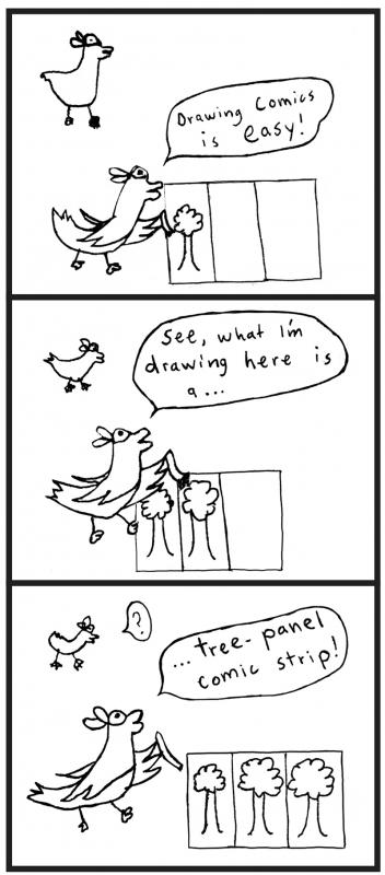 Oliver Buchanan Comic: Comic Duck