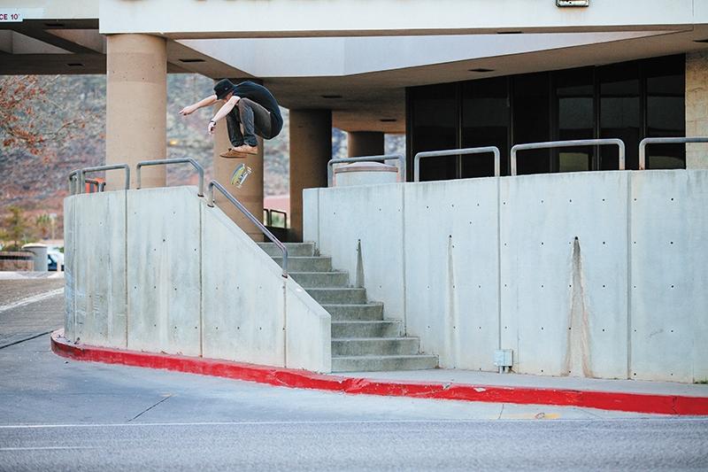 SLUG Skate Photo Feature: Gabe Spotts