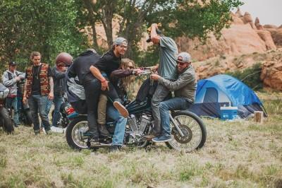 Motos in Moab