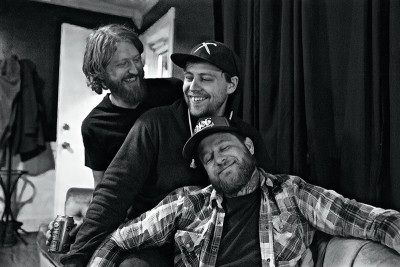 (L–R) Elliot Secrist, Charles Bogus and Kory Quist of The Ditch & The Delta will make their Crucialfest debut on June 19.