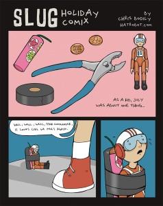 Chris Bodily July SLUG comic