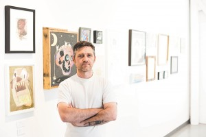 Shon Taylor has birthed the God Hates Robots space into the SLC gallery landscape with business partner Ray Childs (not pictured).