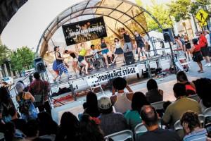 Urban Arts Festival Stage