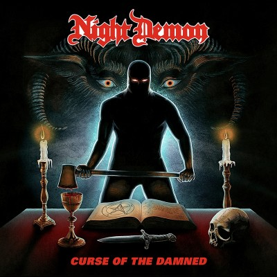 Night Demon Curse of the Damned Album Cover