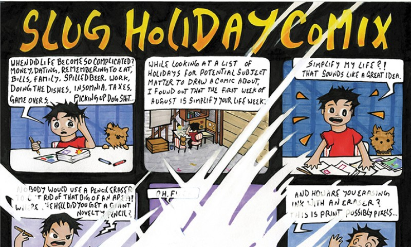 Manuel Aguilar August 2015 Holiday Comic