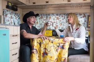 Michael Sanders and Kate Wheadon of Urban Flea Market
