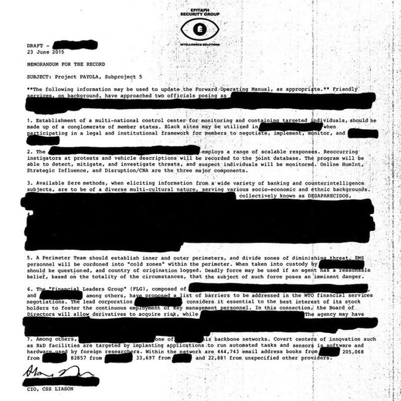 Review: Desaparecidos – Payola