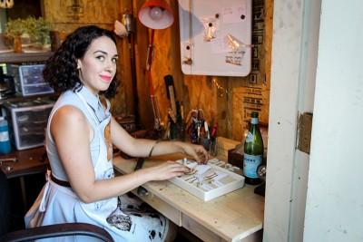 Malinda Fisher of Desert Rose Jewelry.