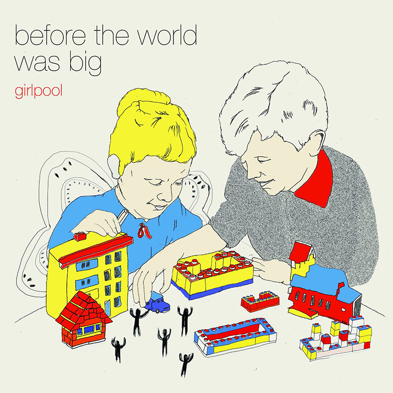 girlpool before the world was big album cover
