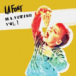 LA Font Hangtime Album Cover