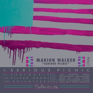 marion walker serious picnic ep album cover
