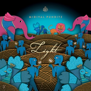 MIDIval Punditz Light album cover