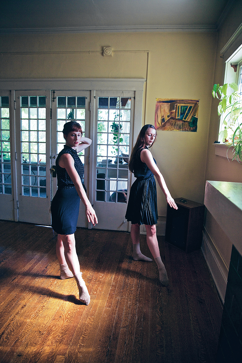 Longtime contributors to the Salt Lake City dance community, choreographers/performers Amy Falls & Amy Fry are collaborating together for the first time for the 2015 Craft Lake City DIY Festival on Aug. 8.