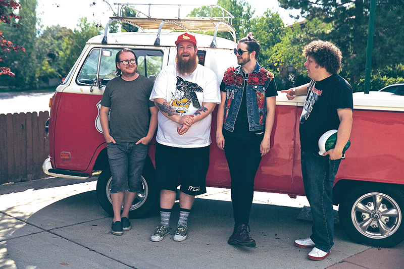 (L–R) House of Lewis members Chance Lewis, Donnie Bonelli, Apt and Athiest will be bringing eclectic flow to the 2015 Craft Lake City DIY Festival.