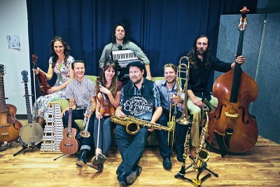 Performing at the 2015 Craft Lake City DIY Festival, Salt Lake City–based ensemble St. Bohéme will deliver Old World–style musical charm.