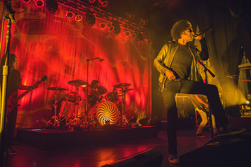 From the moment he started with Alice in Chains in 2006, William Duvall has been a powerhouse whose vocal performance really accentuates the band's unforgettable sound. Photo: Talyn Sherer